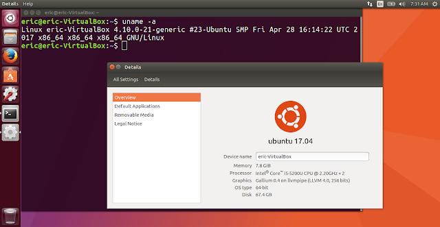 Install Ubuntu 17.04 On Windows 10/Oracle Virtualbox
