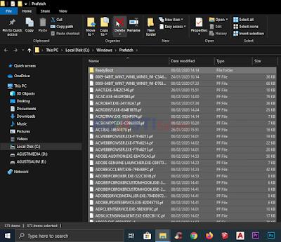 Cara menghapus File Sampah pada Wndows