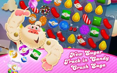 pada kesempatan kali ini admin akan membagikan sebuah  Candy Crush Saga v1.126.0.3 Mod Apk (Unlimited Lives+Unlocked)