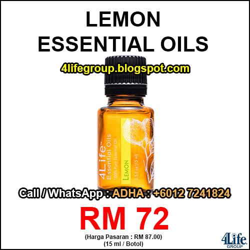 foto 4Life Essential Oils Lemon