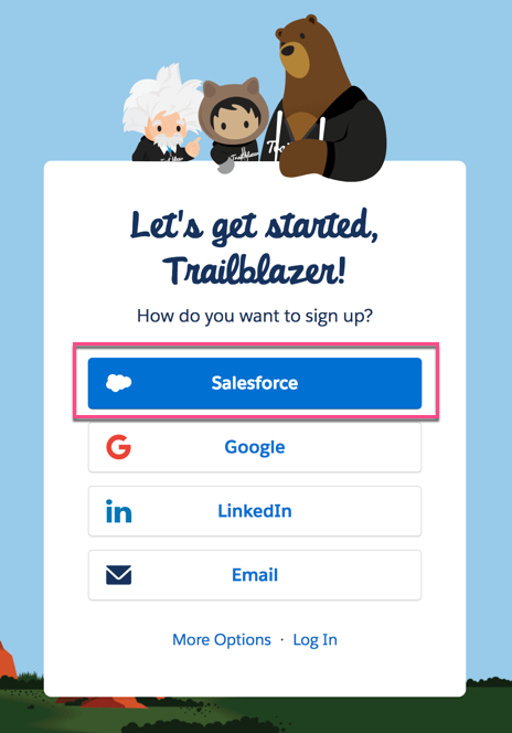 Salesforce Hacker: Using Single Sign-on with Trailhead