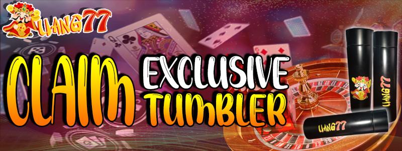 Claim Tumbler Exclusive
