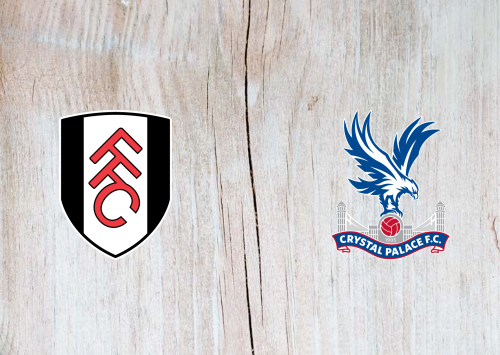 Fulham vs Crystal Palace -Highlights 24 October 2020