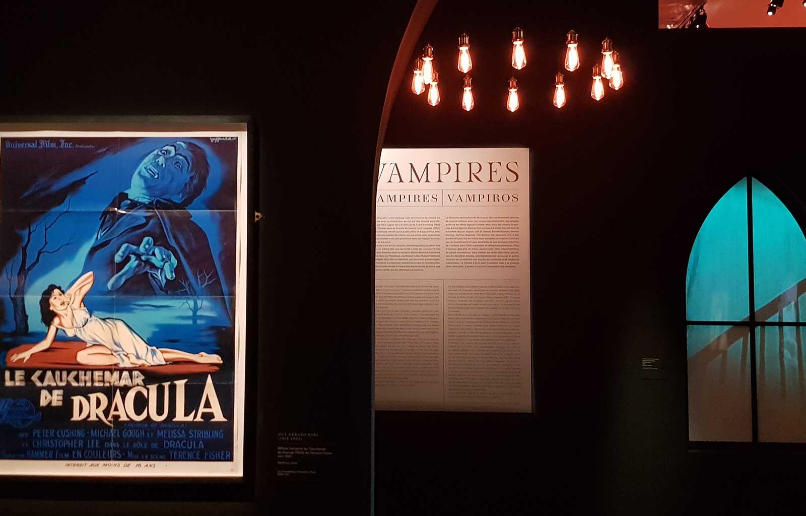 Exposition vampires cinémathèque paris