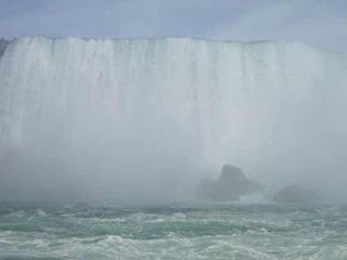 Niagara Falls From Maid Of The Mist.