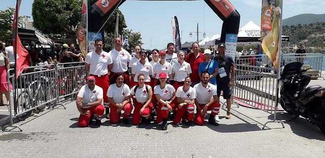 Το Σώμα Εθελοντών του Ερυθρού Σταυρού Ναυπλίου καλυψε υγειονομικά τους αγώνες POROSEA 2019