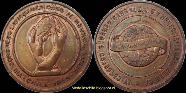 Medalla Congresos de Neurocirugia Medicina