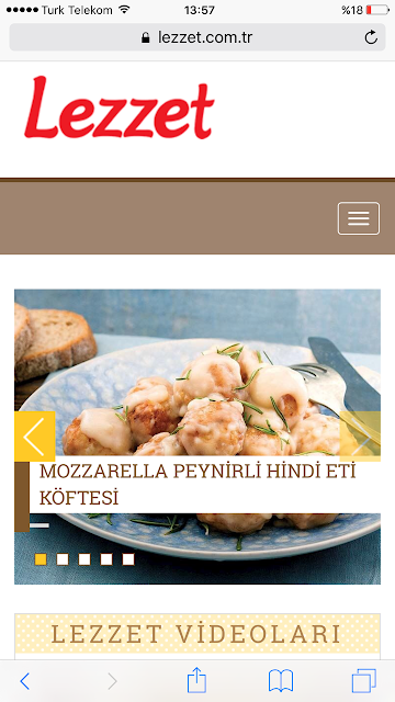 mozzarella peynirli hindi eti köftesi