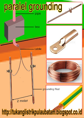 rod grounding tukang listrik batam