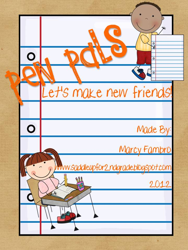 Pen pals part 1 saddle up for second grade pen pals part 1 spiritdancerdesigns Images