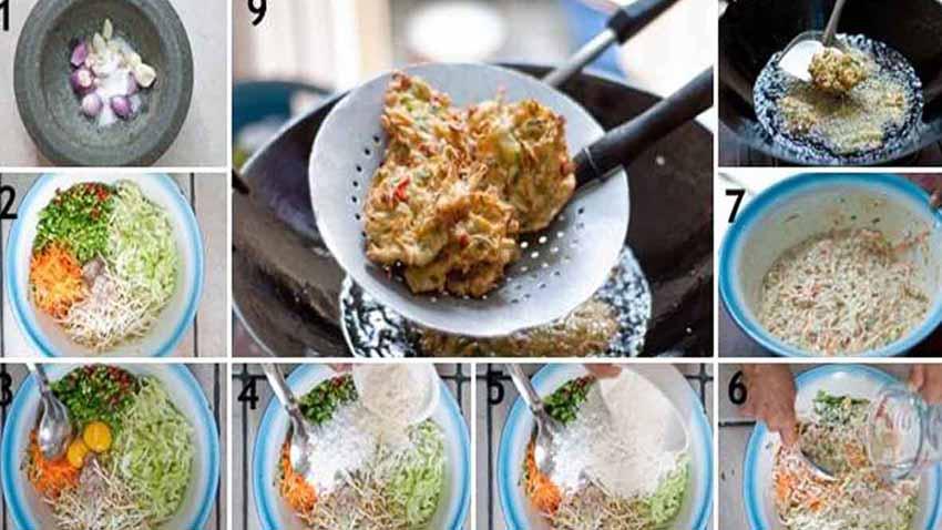 Resep Membuat Bakwan Sayur Renayah Dengan Sambal 4 Rasa