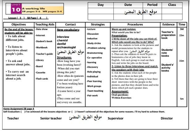 التحضير الالكترونى فى اللغة الانجليزية الصف الثانى الاعدادى,الفصل الدراسى الثانى .