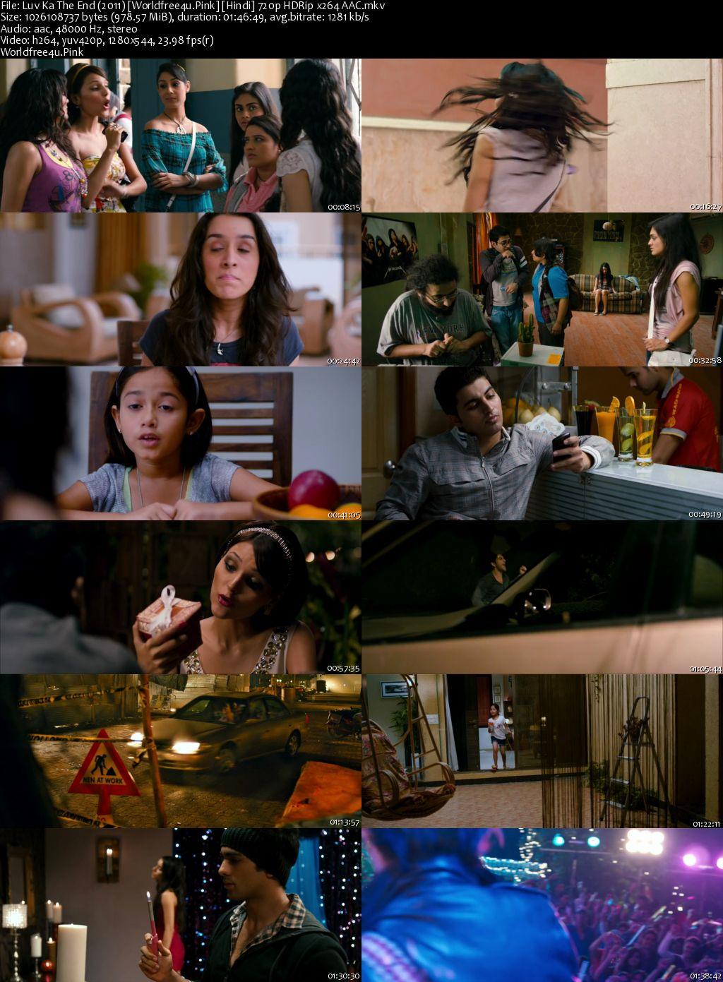 Luv Ka the End 2011 Hindi HDRip 720p