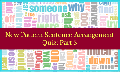 New Pattern Sentence Arrangement