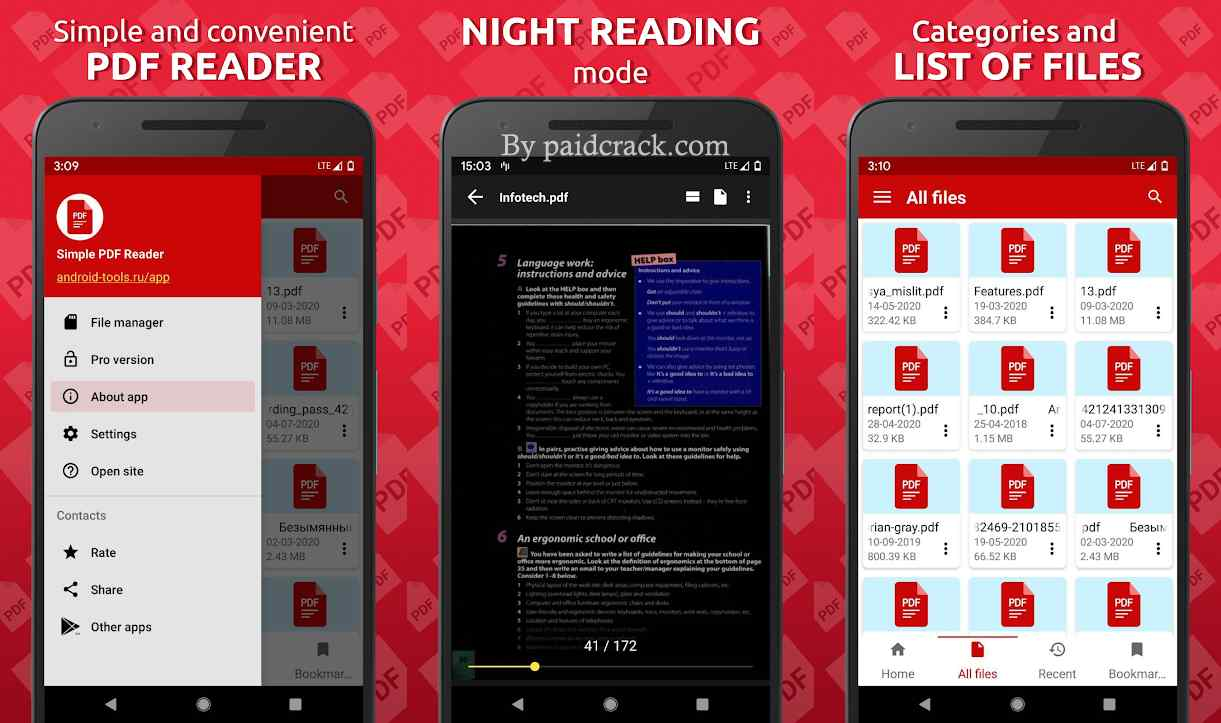 Simple PDF Reader Pro Mod Apk 1.0.29