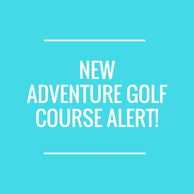 Galaxy Quest Adventure Golf at Laser Quest Sunderland