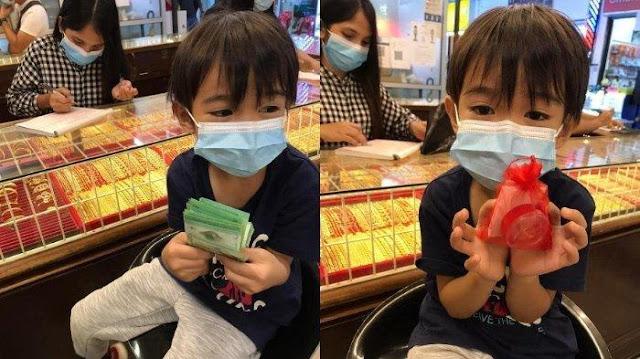 VIRAL Bocah 6 Tahun Beri Hadiah Cincin untuk Ibu dengan Uang Sendiri, Ditemani Ayah saat Membeli