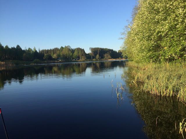 Река Вруда водохранилище