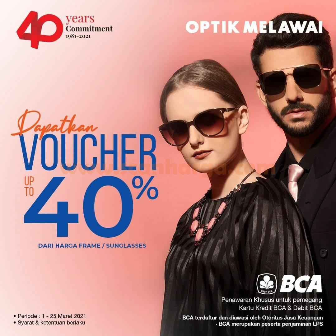 Optik Melawai Promo Beli Frame /Sunglasses Voucher up to 40%
