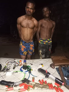 Two notorious IPOB/ESN members arrested in Imo (photo)