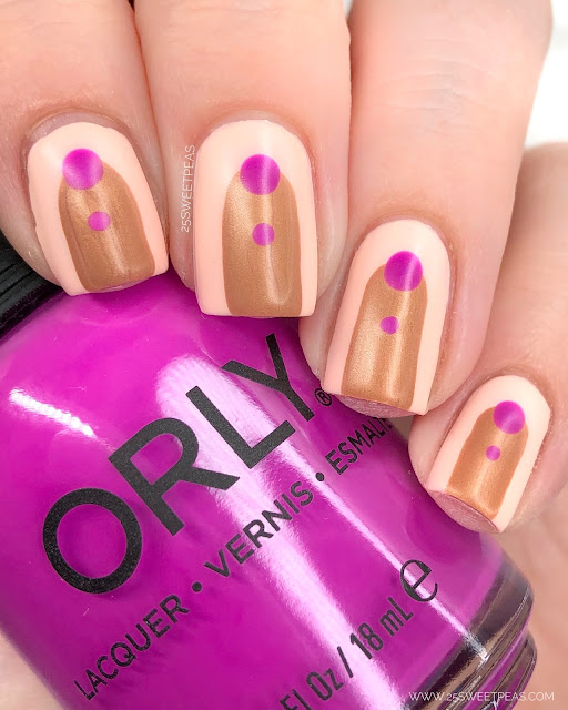 Orly Abstract 25 Sweetpeas