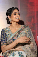 Sri Devi in designer saree stunning beauty at the launch of MOM movie Trailer~  Exclusive 118.JPG