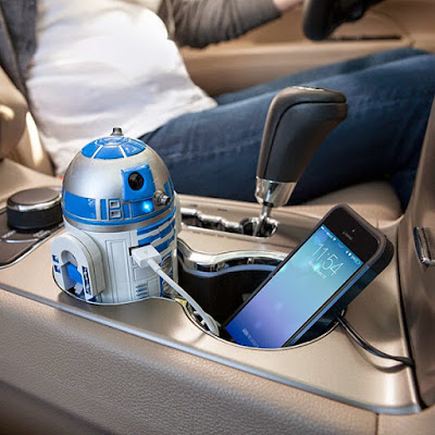 R2-D2 USB Car Recharger