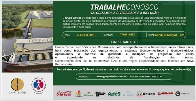 GRUPO SIMÕES - TRABALHE CONOSCO!