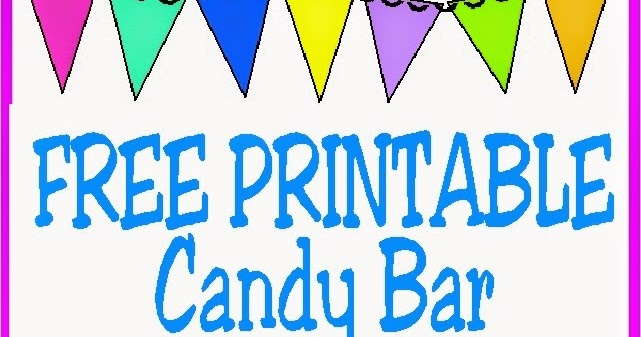 10 printable candy bar wrappers everyday parties