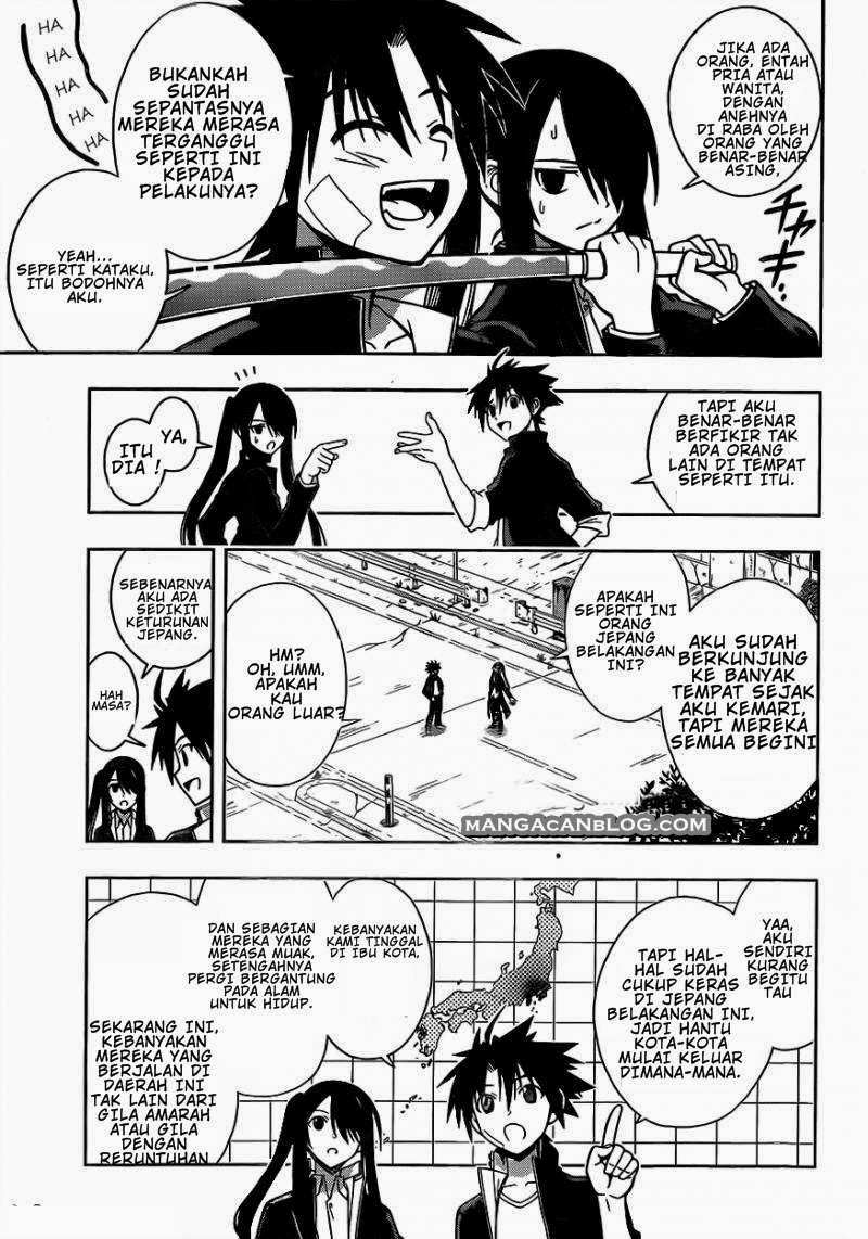 UQ Holder! Chapter 3 Bahasa Indonesia