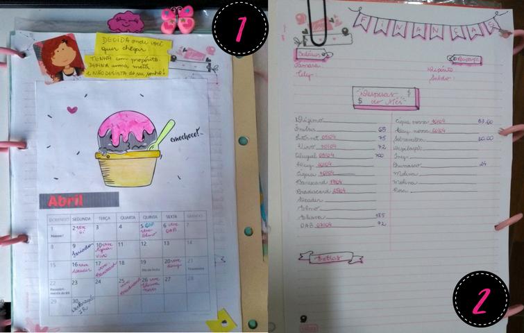 3 formas de organização de tarefas - Bullet Journal - Tamaravilhosamente