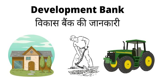 विकास बैंक क्या है? - Development Bank Of India