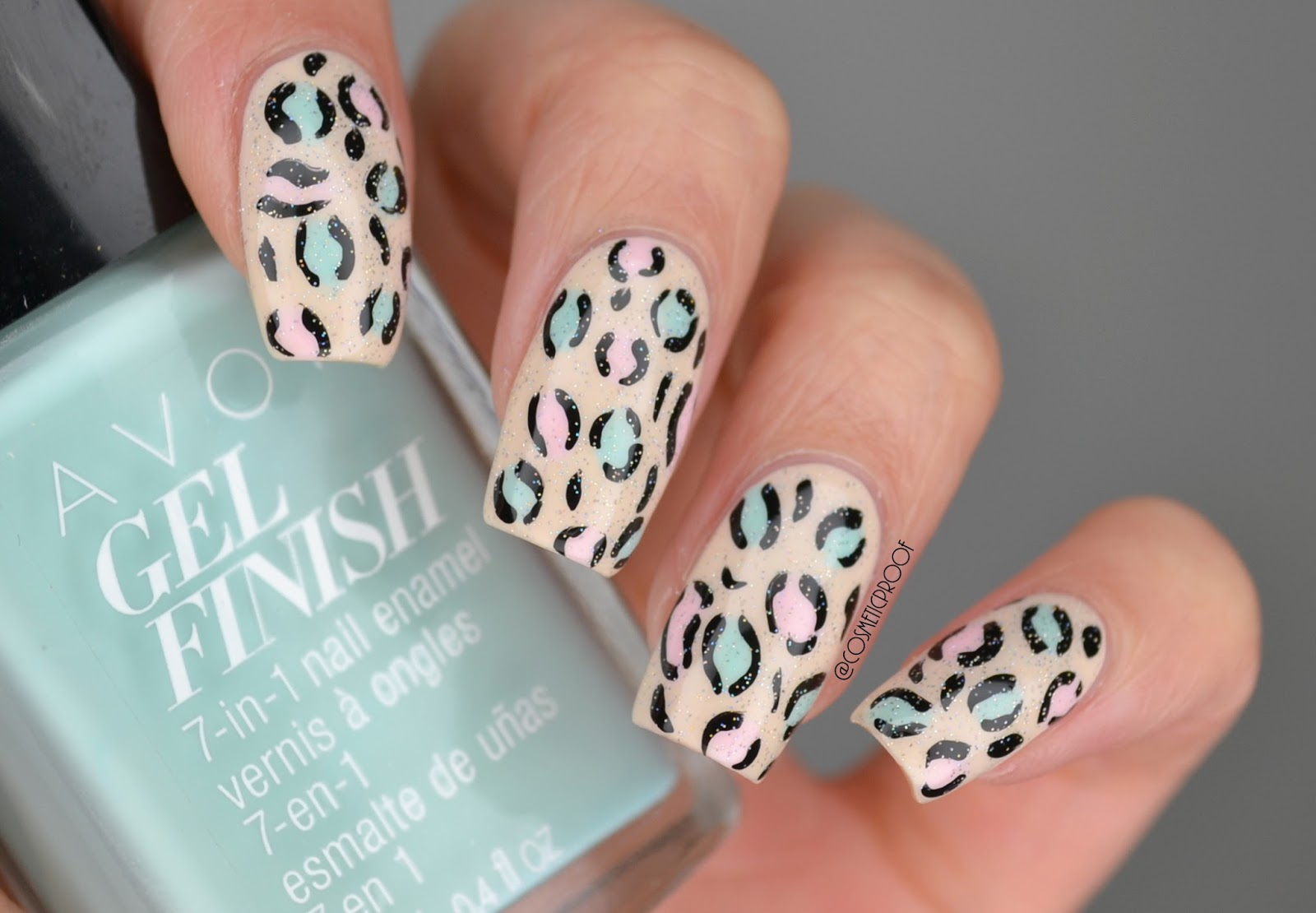 NAILS | The Neutral Leopard Print #AvonForMay | Cosmetic Proof ...