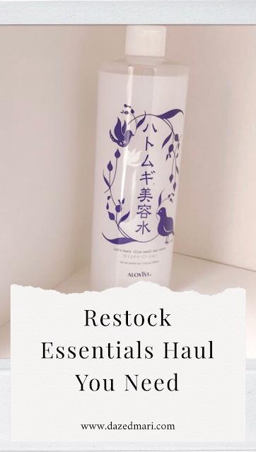 Restock Haul | Essential Haul