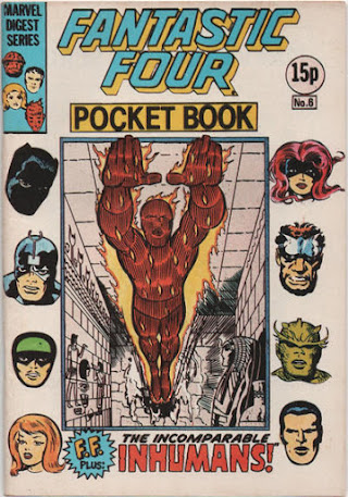 Fantastic Four pocket book #6