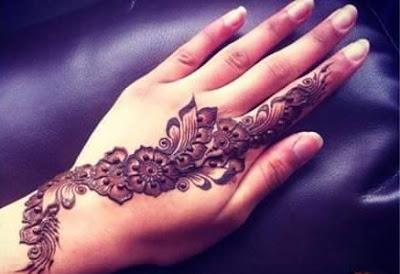 Floral Mehndi Designs
