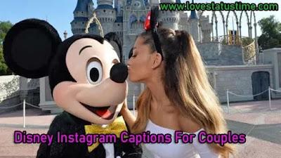 Disney Instagram Captions For Couples