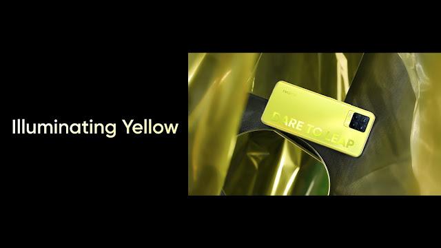 Realme 8 Series Illuminating Yellow Color