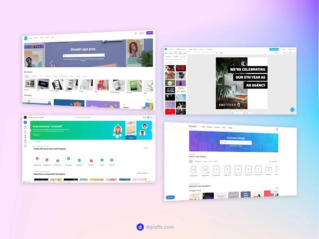 4 Platform Buat Desain Grafis Terbaik Tanpa Install Software