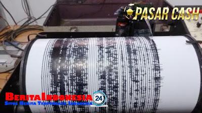 Gempa 7,3 SR Guncang Laut Sulawesi Siang Ini