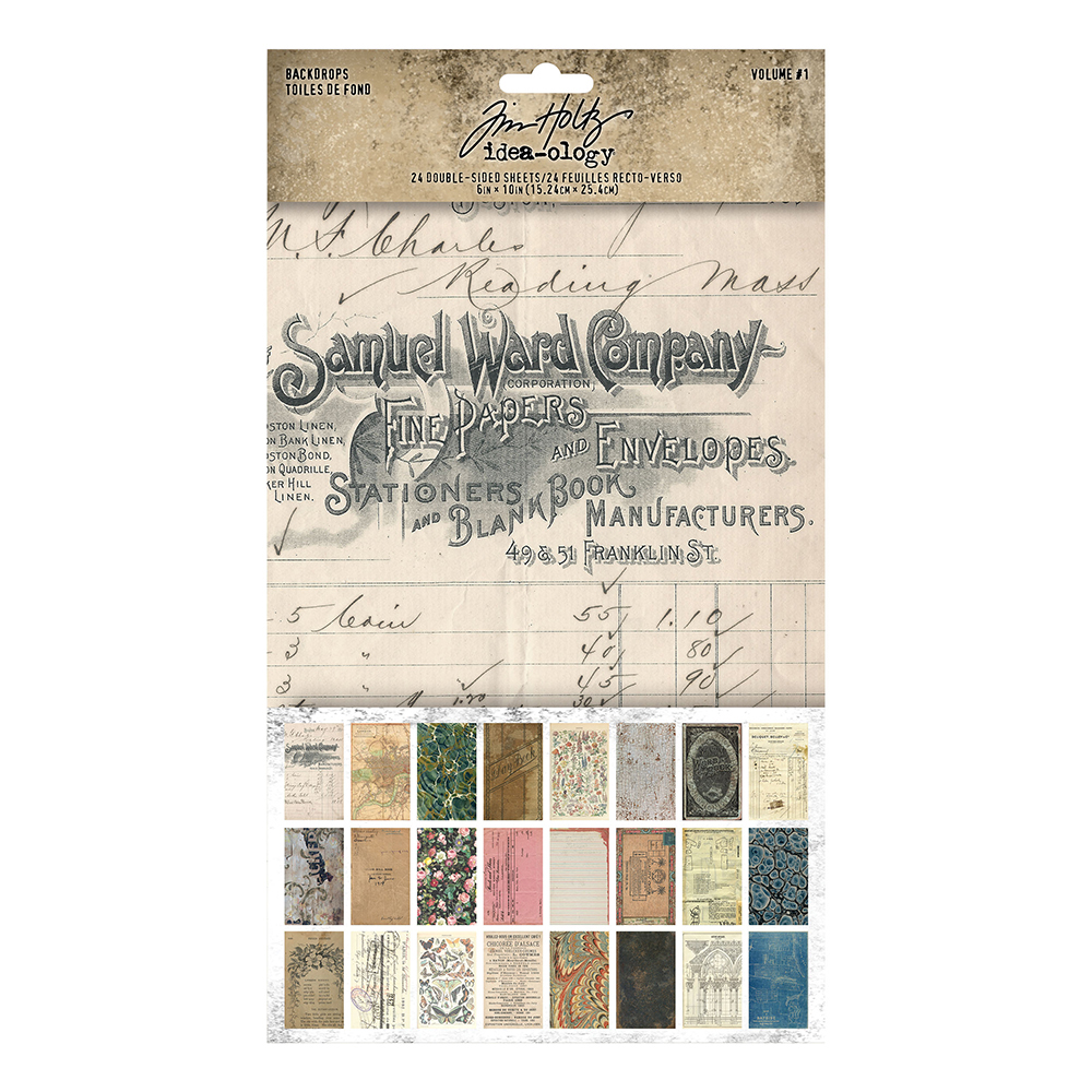 Vintage Journaling Papers