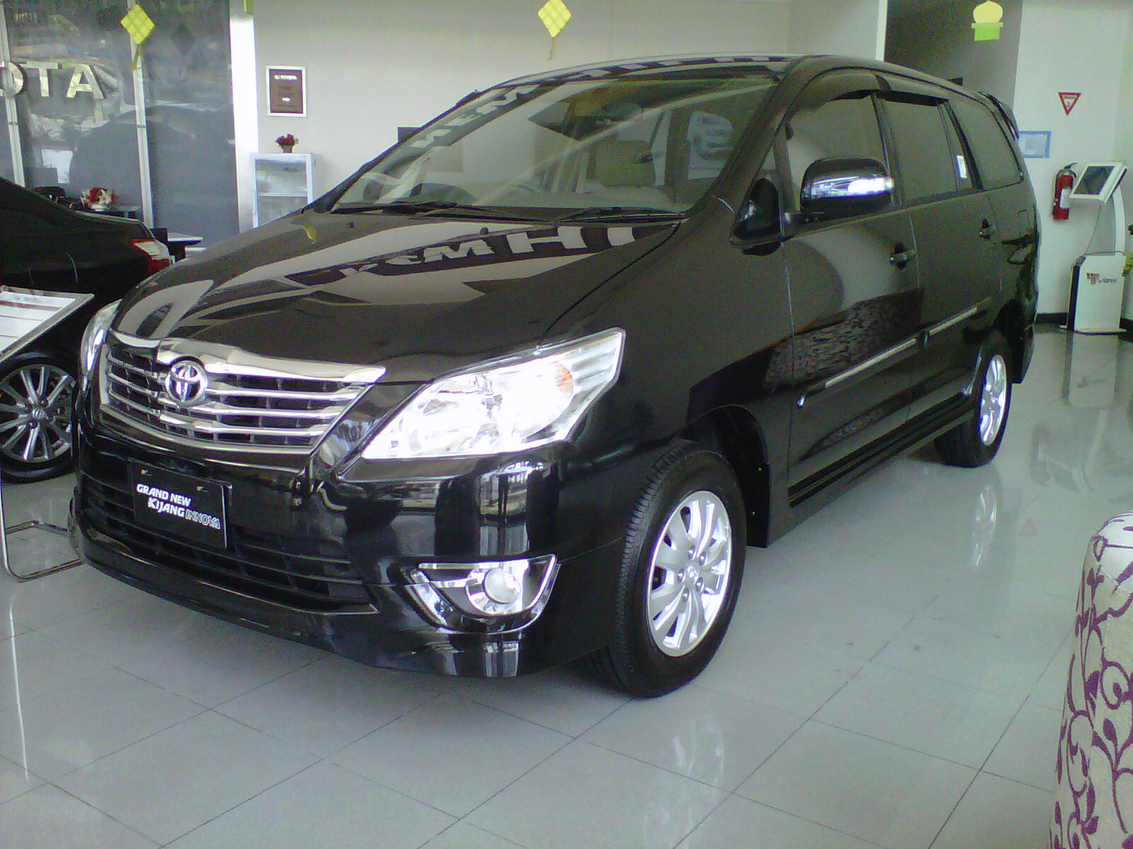 Grand New Kijang Innova All Venturer Interior Plaza Toyota Kyai Tapa