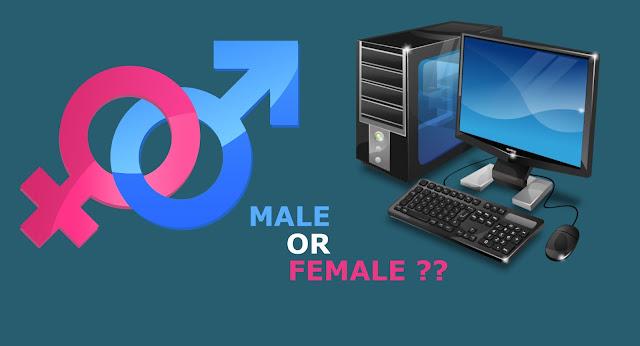 Cara Mengetahui Jenis Gender Komputer kamu Pria atau Wanita