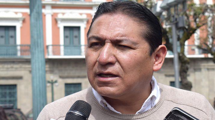 Bedregal, vocero de Sol.Bo, la agrupación aliada a Comunidad Ciudadana / PRENSA SOL.BO