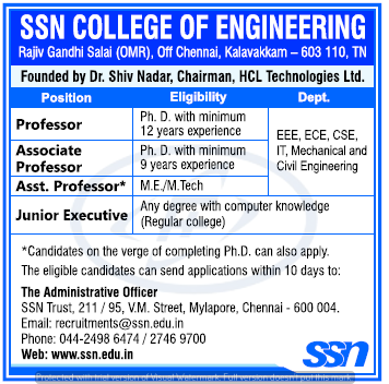 Professor Jobs Associate Professor Jobs Assistant