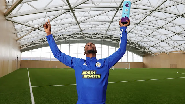 Leicester city forward Kelechi Ihenancho win Premier League player of the month