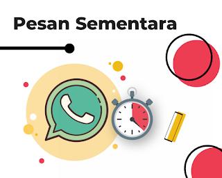 Cara Menghilangkan Pesan Sementara di Whatsapp