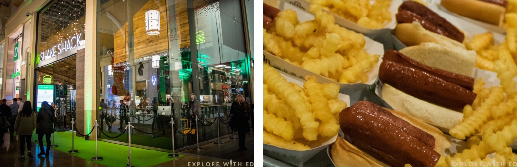 Flat-top dog from Shake Shack Cardiff