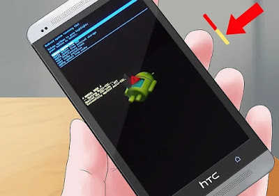 كيفية إعادة تعيين هاتف HTC مغلق
