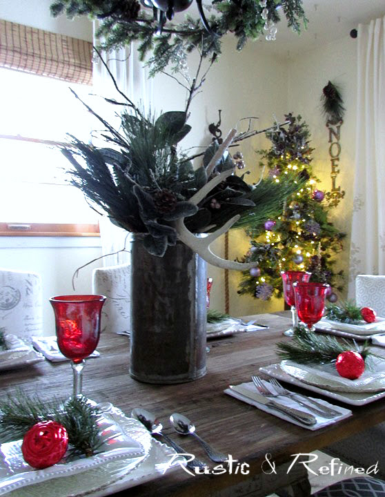 Tablescape ideas for the Holidays